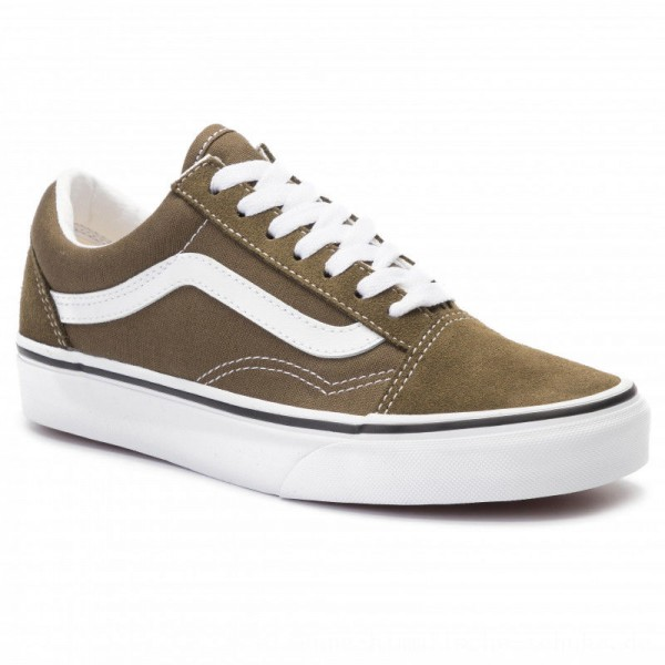 Vans Turnschuhe Old Skool VN0A4BV5V7D1 Beech/True White [Outlet]