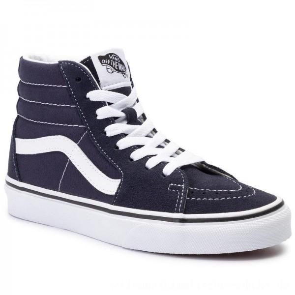 Vans Sneakers Sk8-Hi VN0A4BV6V7E1 Night Sky/True White [Outlet]