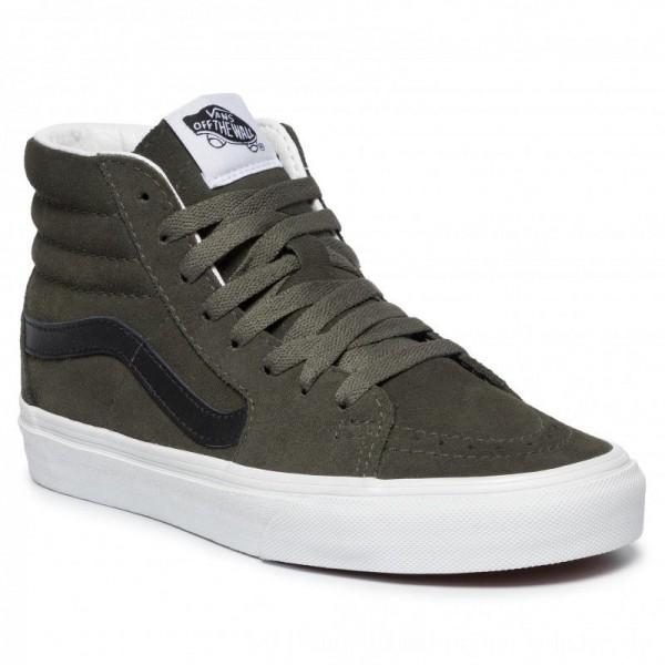 Vans Sneakers Sk8-Hi VN0A4BV6XKD1 (Suede) Forest Night/Trwht