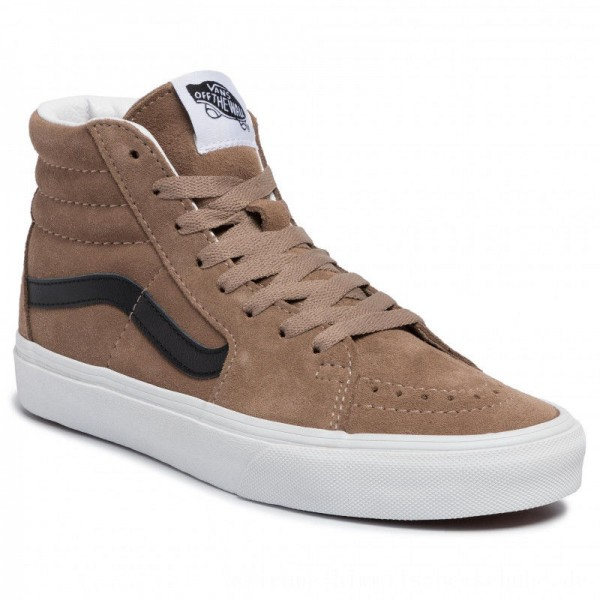 Vans Sneakers Sk8-Hi VN0A4BV6XKE1 (Suede) Portabella/Tr Wht [Sale]