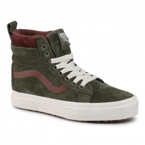 [BLACK FRIDAY] Vans Sneakers Sk8Hi Mte VN0A4BV7V401 (Mte) Deep Lichen Gr/Rt Br