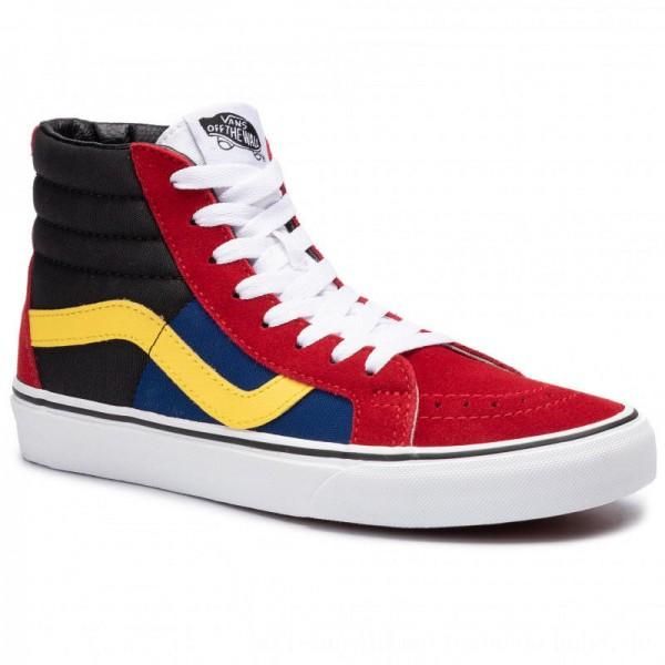 Vans Sneakers Sk8-Hi Reissue VN0A4BV8XKR1 (Otw Rally) Chlipepr/Trwht [Sale]