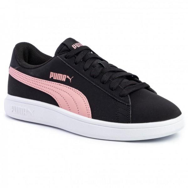 Puma Sneakers Smash Buck V2 365160 18 Black/Bridal Rose/White [Sale]