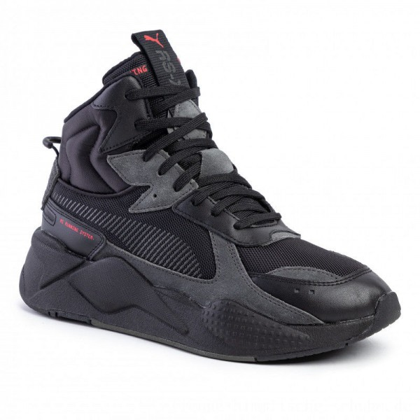 Puma Sneakers RS-X Midtop Binary Code 36982002 02 Black [Outlet]