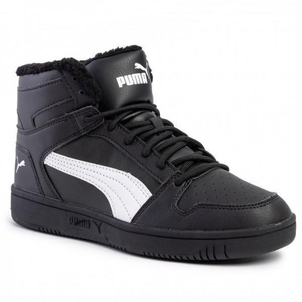 Puma Sneakers Rebound Layup Sl Fur 369830 01 Black/Puma White [Sale]