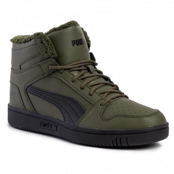 Puma Sneakers Puma Rebound Layup SL Fur 36983004 04 Forest Night/Puma Black [Outlet]