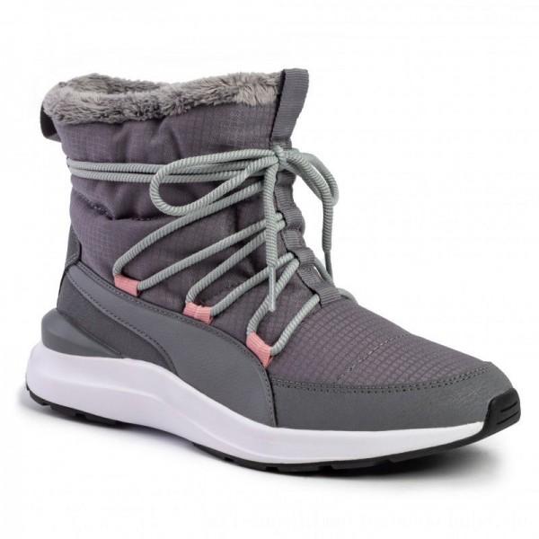 Puma Sneakers Adela Winter Boot 369862 03 Steel Gray/Puma White [Sale]