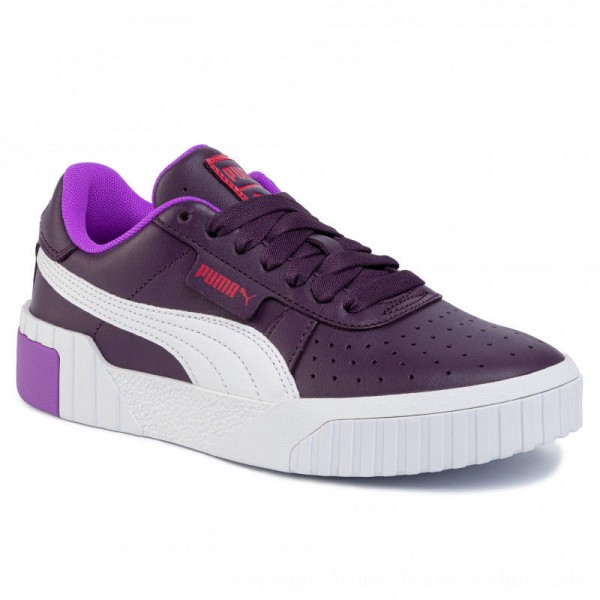 [BLACK FRIDAY] Puma Sneakers Cali Chase Wn's 369970 01 Plum Purple/Nrgy Rose