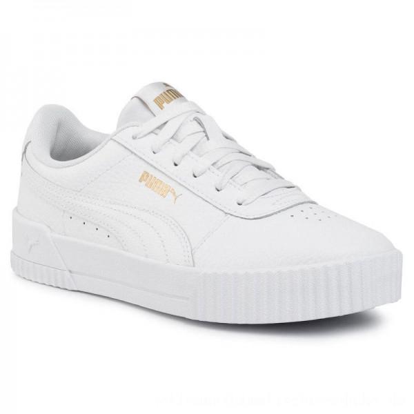 Puma Sneakers Carina Lux L 37028102 02 White/Puma White [Outlet]