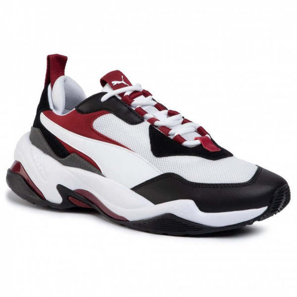 Puma Sneakers Thunder Fashion 2.0 37037606 06 White/P Black/Rhubarb [Outlet]