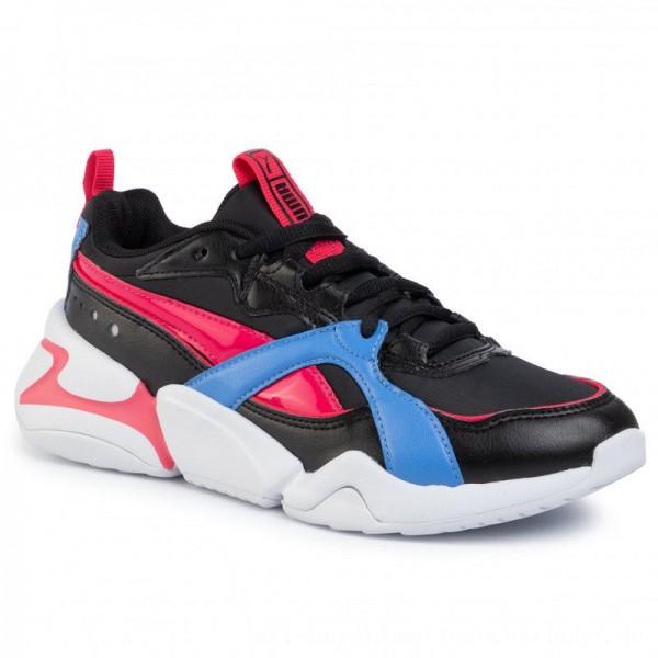 Puma Sneakers Nova 2 Shift 2 Wn's 371063 01 Black/Nrgy Rose [Sale]
