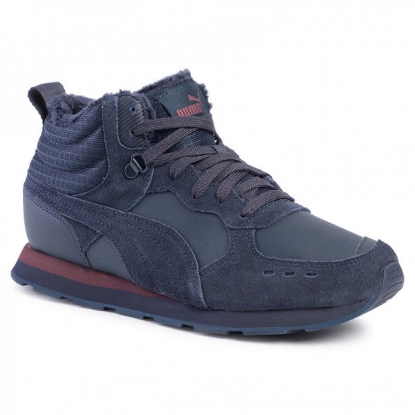 Puma Sneakers Vista Mid Wtr 369783 04 Dark Sapphire/ Vineyard Wine [Outlet]