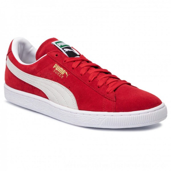 Puma Sneakers Suede Classic+ 352634 65 High Risk Red/White [Sale]