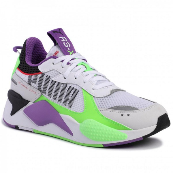 [BLACK FRIDAY] Puma Sneakers RS-X Bold 372715 02 White Gr/Gecko Royal Lilac