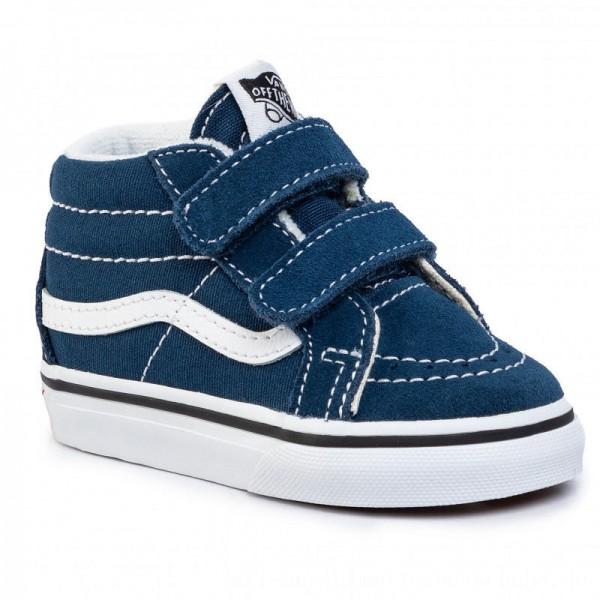 Vans Sneakers Sk8-Mid Reissue V VN0A348JT2S1 Gibraltar Sea/True White [Outlet]