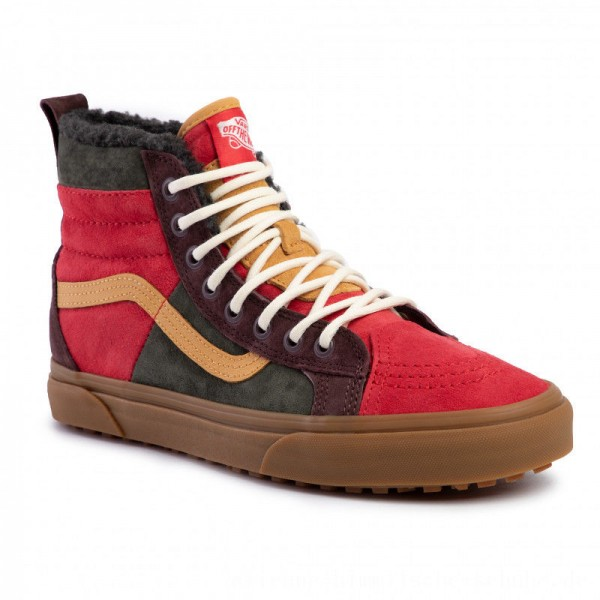 Vans Sneakers Sk8-Hi 46 Mte Dx VN0A3DQ5TUA1 (Mte) Poinsettiaforestnght [Outlet]