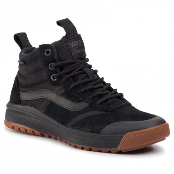 Vans Sneakers Ultrarange Hi Dl VN0A4BU5DW81 Black/Bla [Outlet]