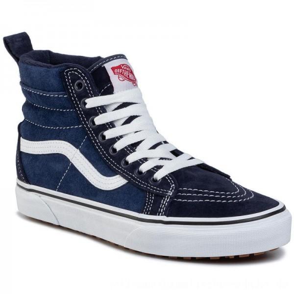 Vans Sneakers Sk8-Hi Mte VN0A4BV7UQE1 (Mte)Navy/True White [Outlet]