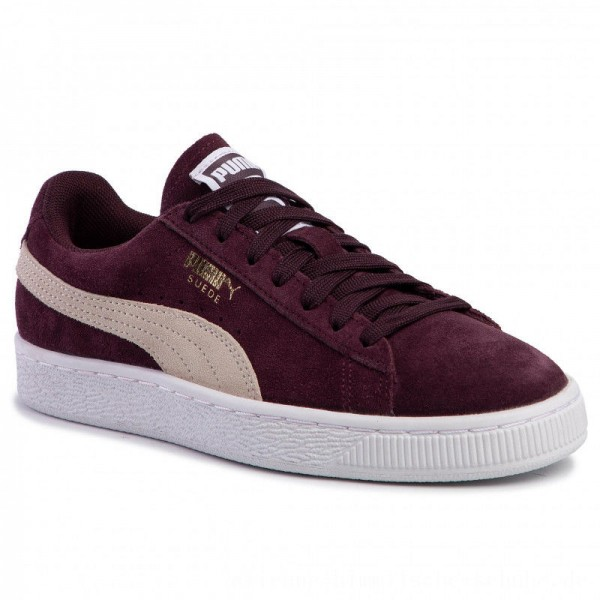 Puma Sneakers Suede Classic Wn's 355462 40 Winetasting/Puma White [Sale]
