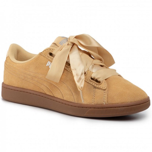 Puma Sneakers Vikky v2 Ribbon S 369726 04 Taos Taupe/Gum/Puma Silver [Outlet]